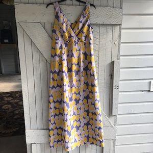 Biden Limited Edition Silk Balloon Maxi Dress
